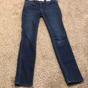 "hollister 00s ""low rise super skinny"" jeans"